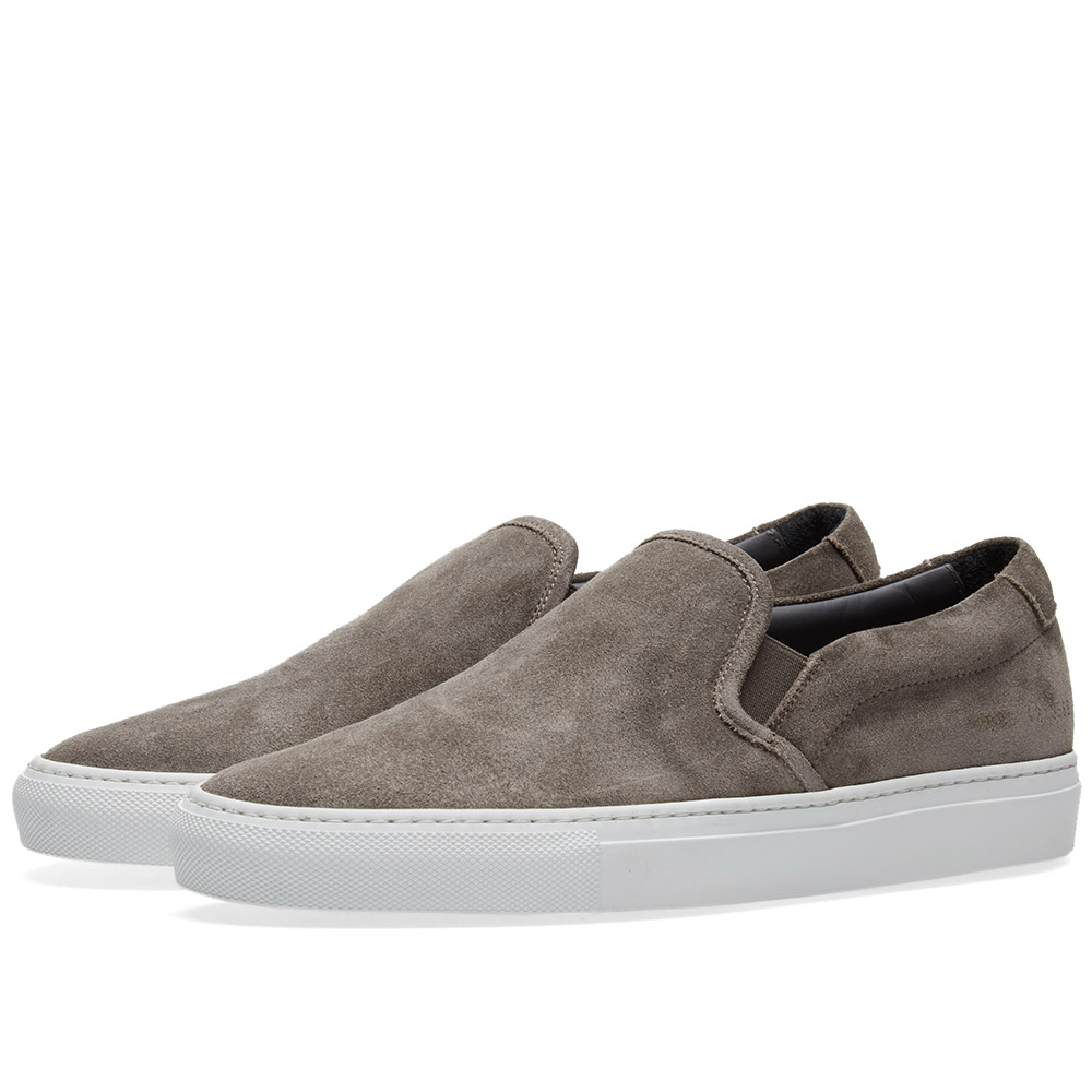 Photo: Common Projects Slip On Waxed Suede