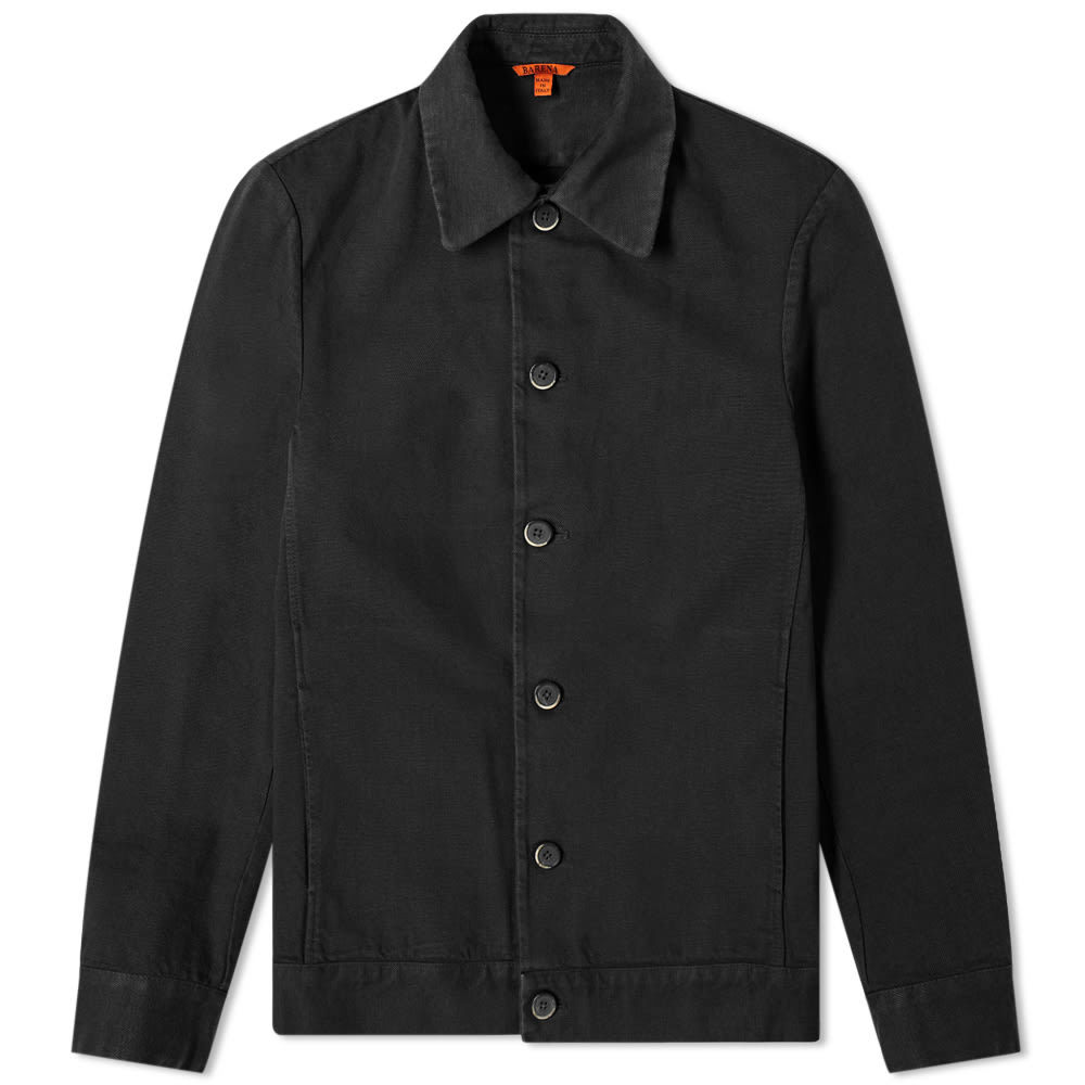 Photo: Barena Secamaro Canvas Chore Jacket