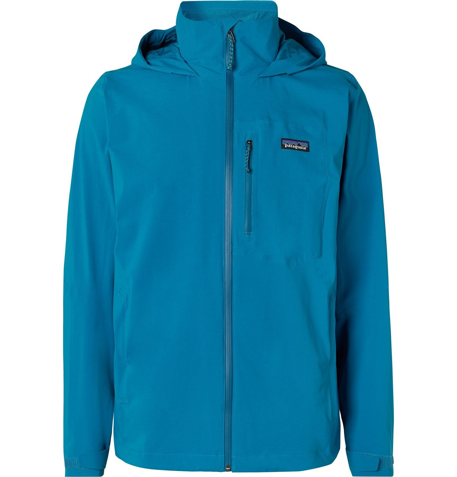 Photo: Patagonia - Quandary Waterproof Shell Hooded Jacket - Blue