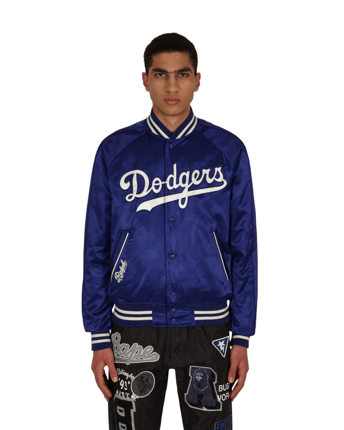 Photo: Polo Ralph Lauren Dodgers Bomber Jacket Baseball Royal/White