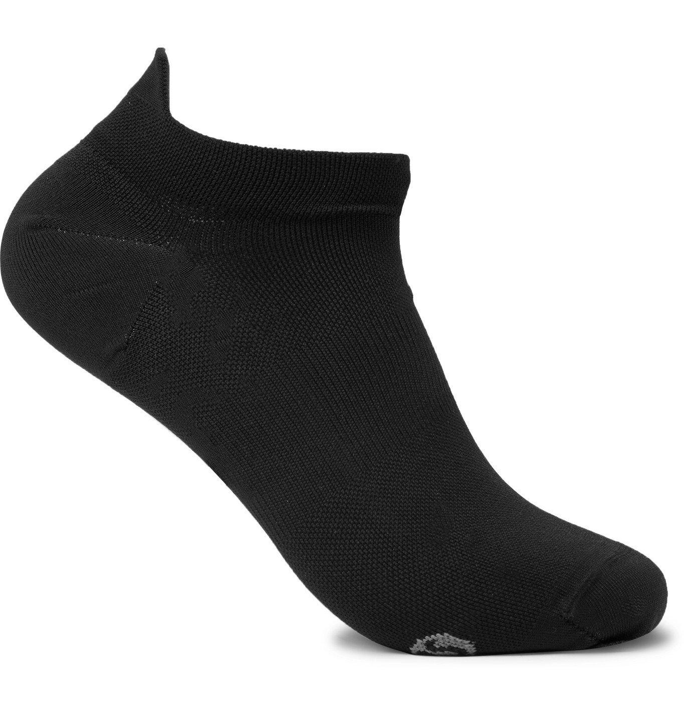Photo: Lululemon - Surge Stretch-Knit No-Show Socks - Black