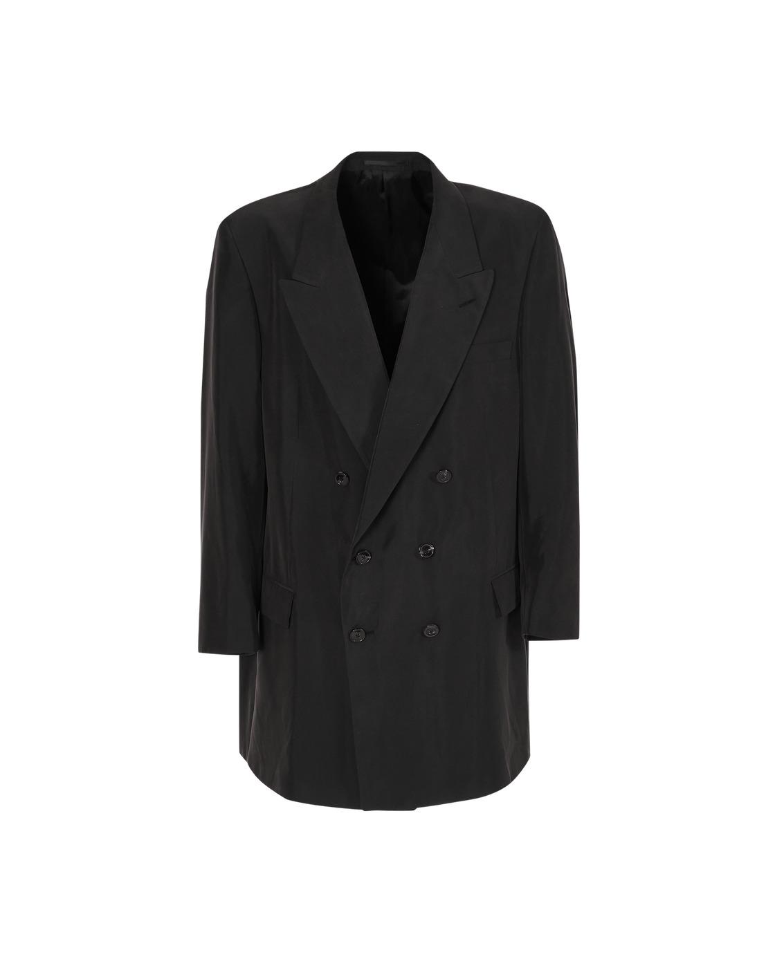 Martine Rose Double Breasted Oversized Blazer Black