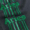 Aries - Logo-Print Fleece-Back Cotton-Jersey Sweatshirt - Black
