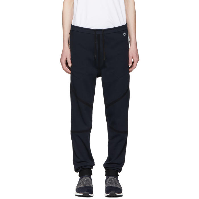 Photo: ISAOR Navy Taped Quick Dry Lounge Pants