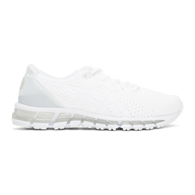 Photo: Asics White Gel-Quantum 360 Knit 2 Sneakers