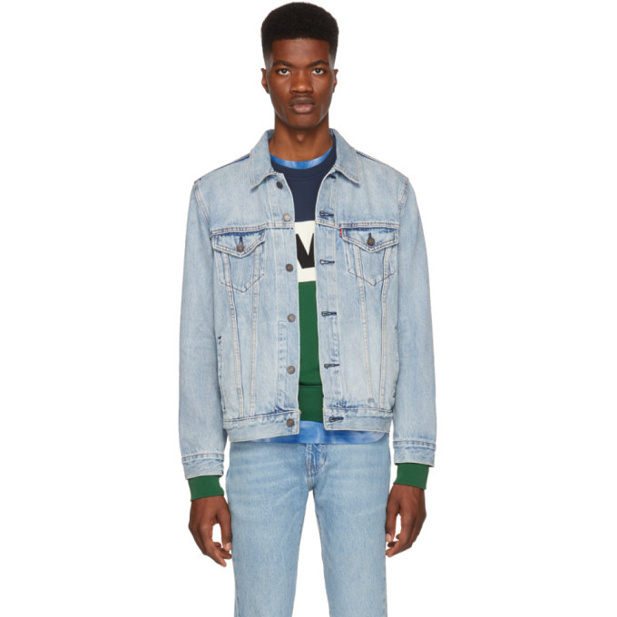 Photo: Levis Blue Denim Trucker Jacket