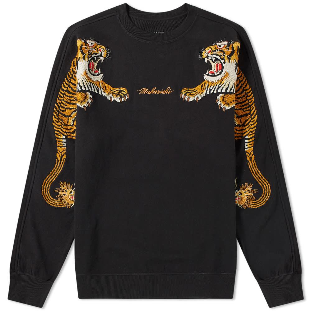 Photo: Maharishi Tiger Style Crew Sweat Black
