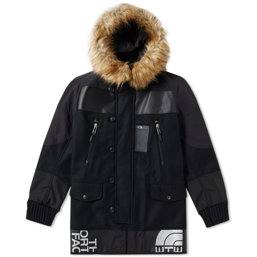 Photo: Junya Watanabe MAN x The North Face Wool Duffle Jacket