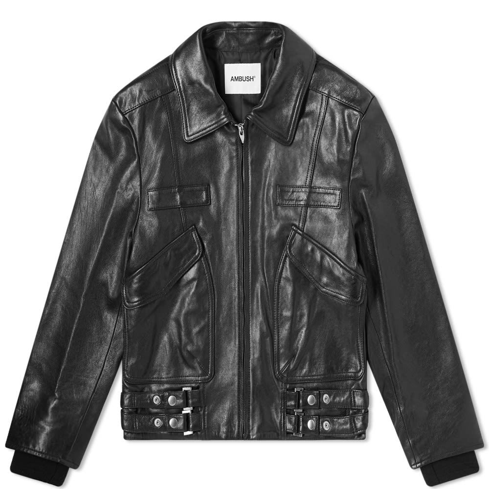Photo: Ambush Leather Biker Jacket
