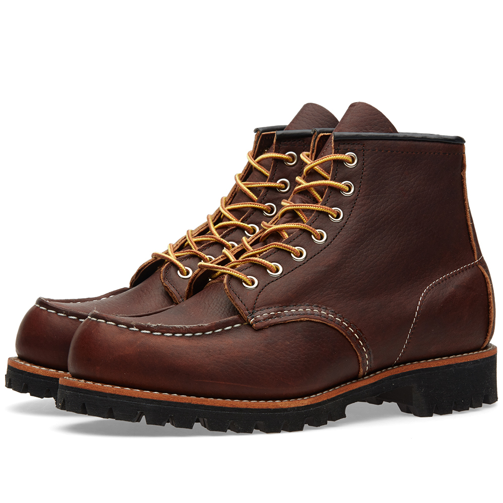 "Photo: Red Wing 8146 Heritage Work 6"" Moc Lug Boot"