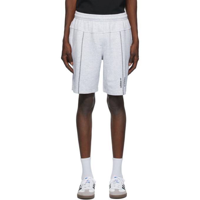 Photo: adidas Originals Grey Crew Shorts