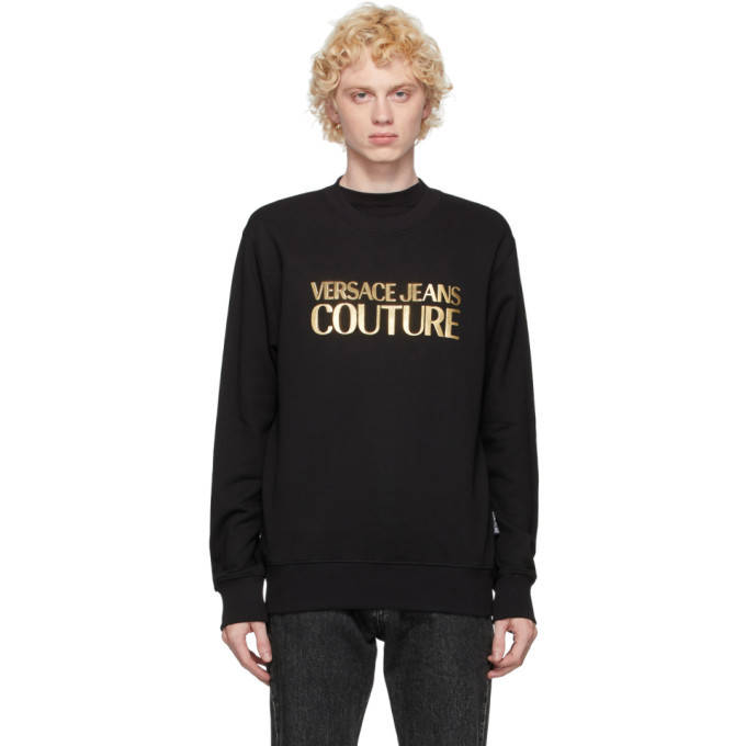 Photo: Versace Jeans Couture Black Logo Sweatshirt