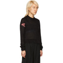Alyx Black Mohair Judy Sweater