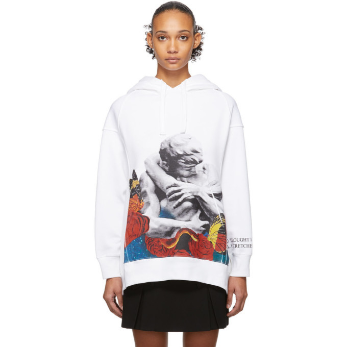 Photo: Valentino White Undercover Edition Lovers Hoodie