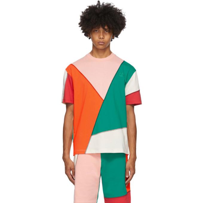 Photo: McQ Alexander McQueen Multicolor Patchwork T-Shirt