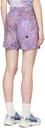 MCQ Purple Hyper Speckle Shorts