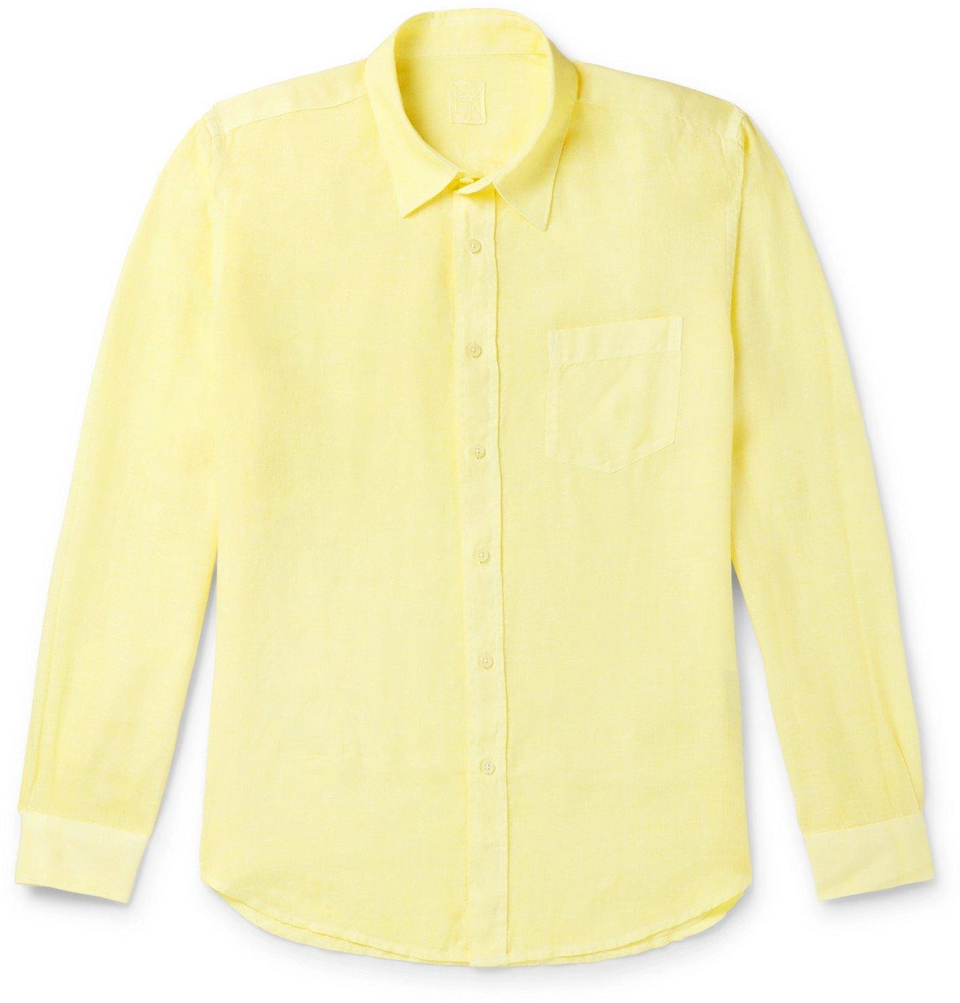 Photo: 120% - Linen Shirt - Yellow