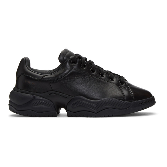 Photo: OAMC Black adidas Originals Edition Type O-2L Sneakers