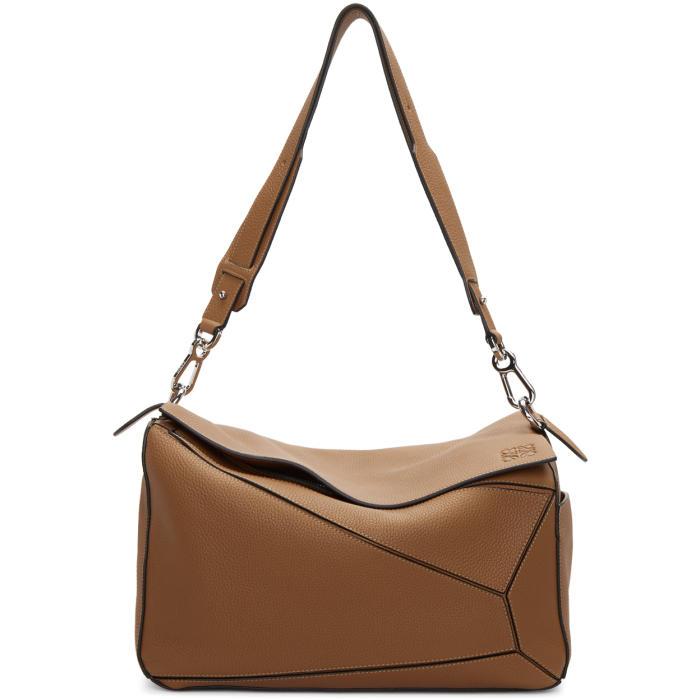 Photo: Loewe Tan XL Puzzle Bag
