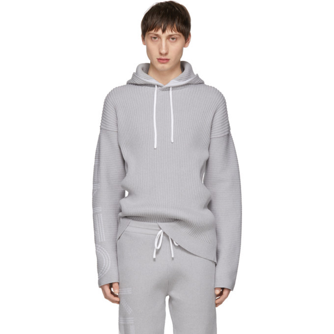 Photo: Kenzo Grey Knitted Hoodie