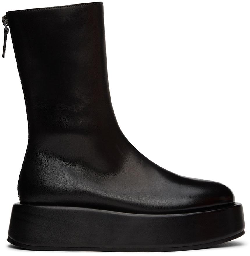 Photo: Marsèll Black Piattaforma Boots