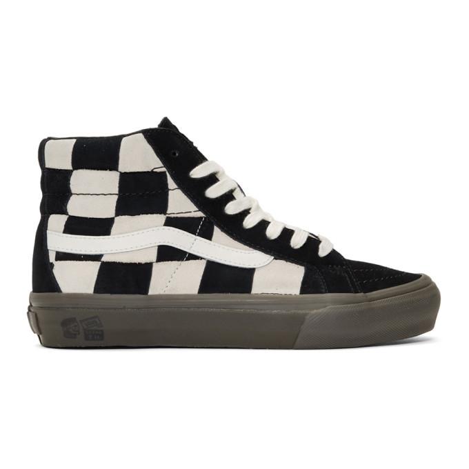 Photo: Vans Off-White and Black Taka Hayashi Edition SK8-Hi LX Sneakers
