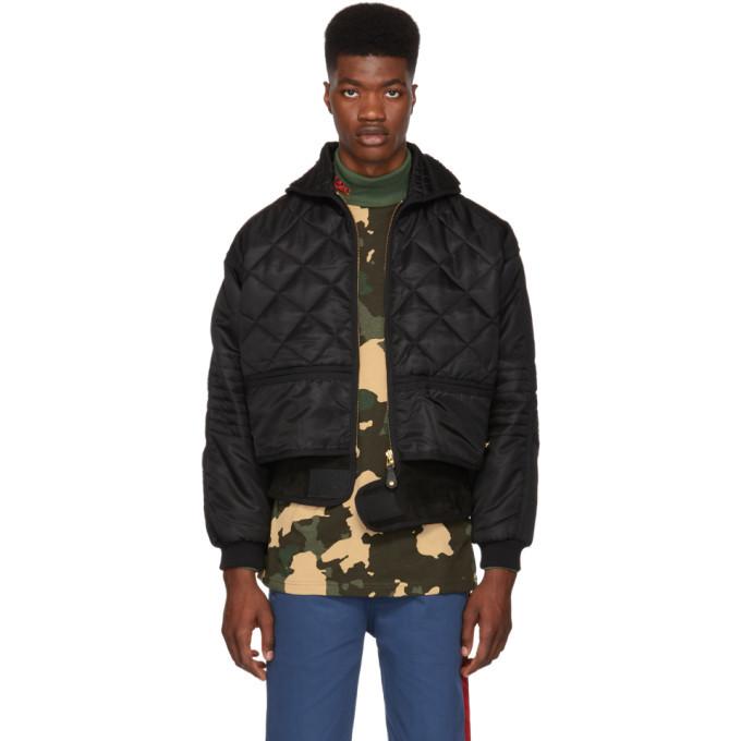 Photo: 032c Black Cosmo Jacket