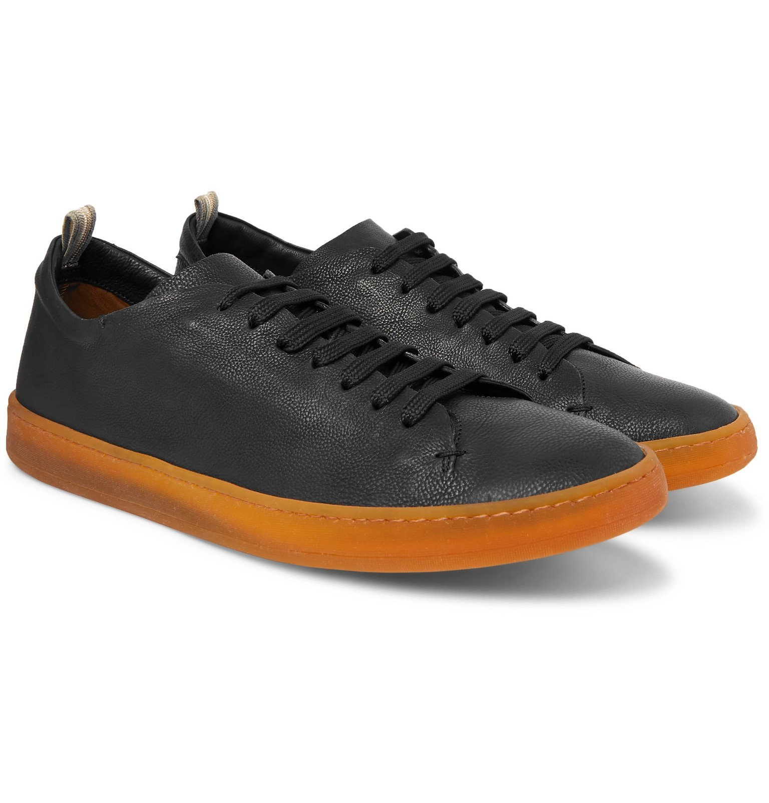 Photo: Officine Creative - Karma Full-Grain Leather Sneakers - Black