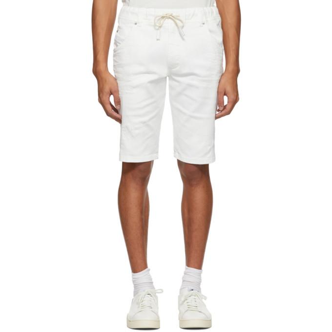 Photo: Diesel White D-Krooshort Shorts