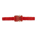 Alyx SSENSE Exclusive Red Buckle Choker
