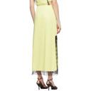 3.1 Phillip Lim Yellow Lace Inlay Skirt