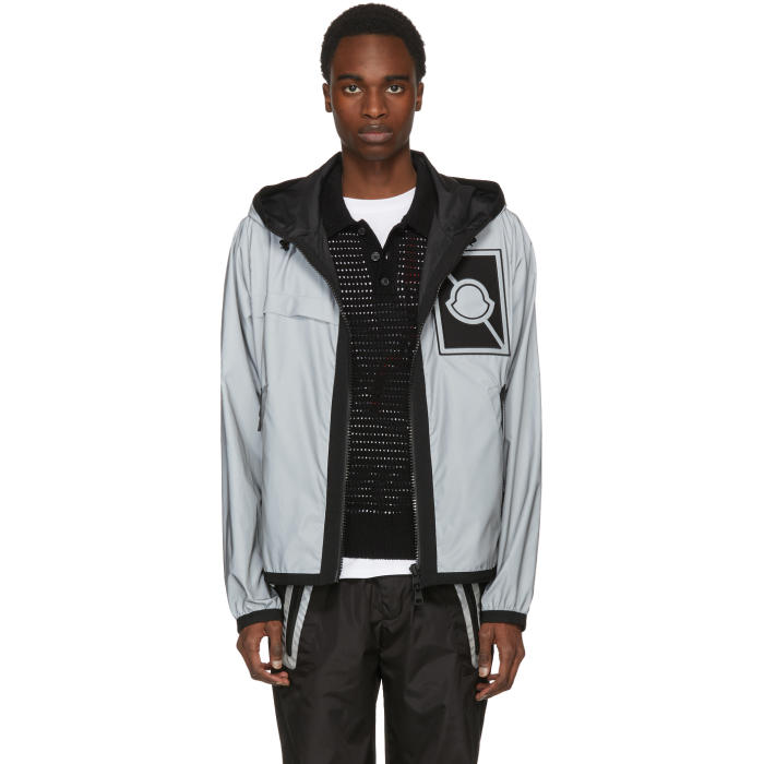 Photo: Moncler C Grey Reflex Gauss Hooded Jacket