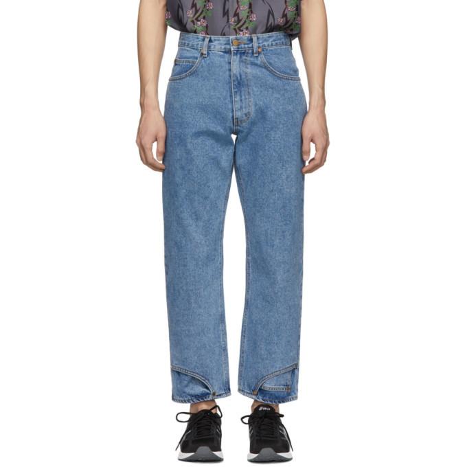 Photo: Keenkee Blue Eight-Pocket Jeans