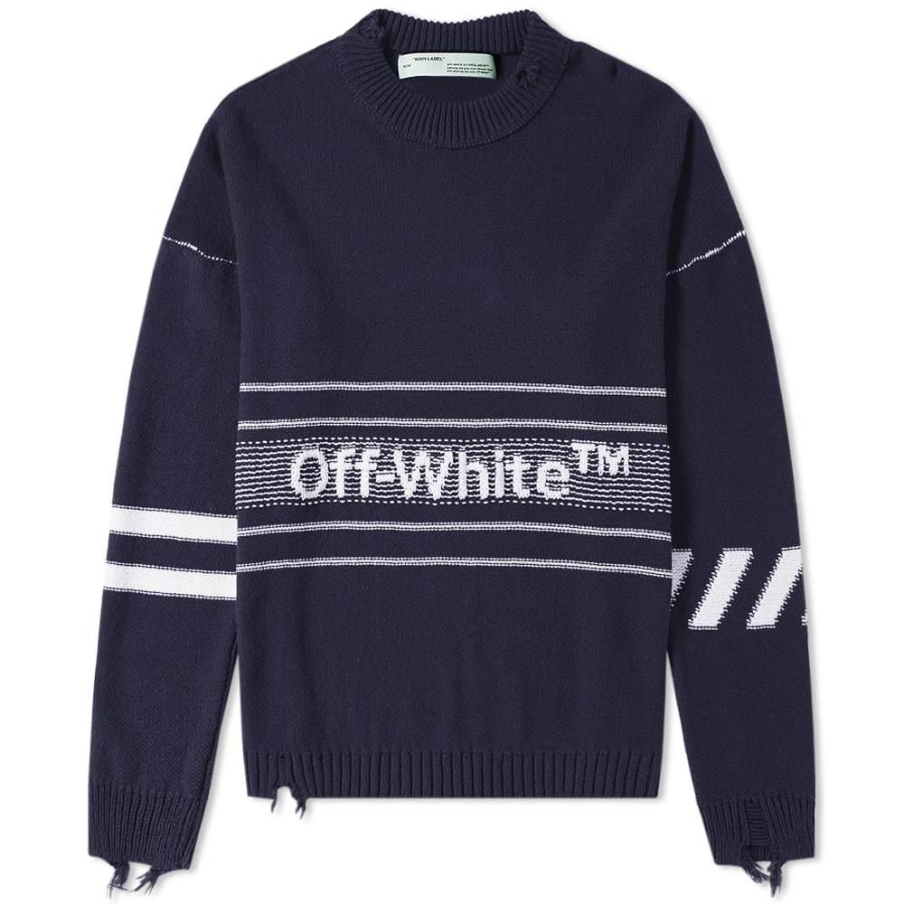 Off-White Logo Crew Knit