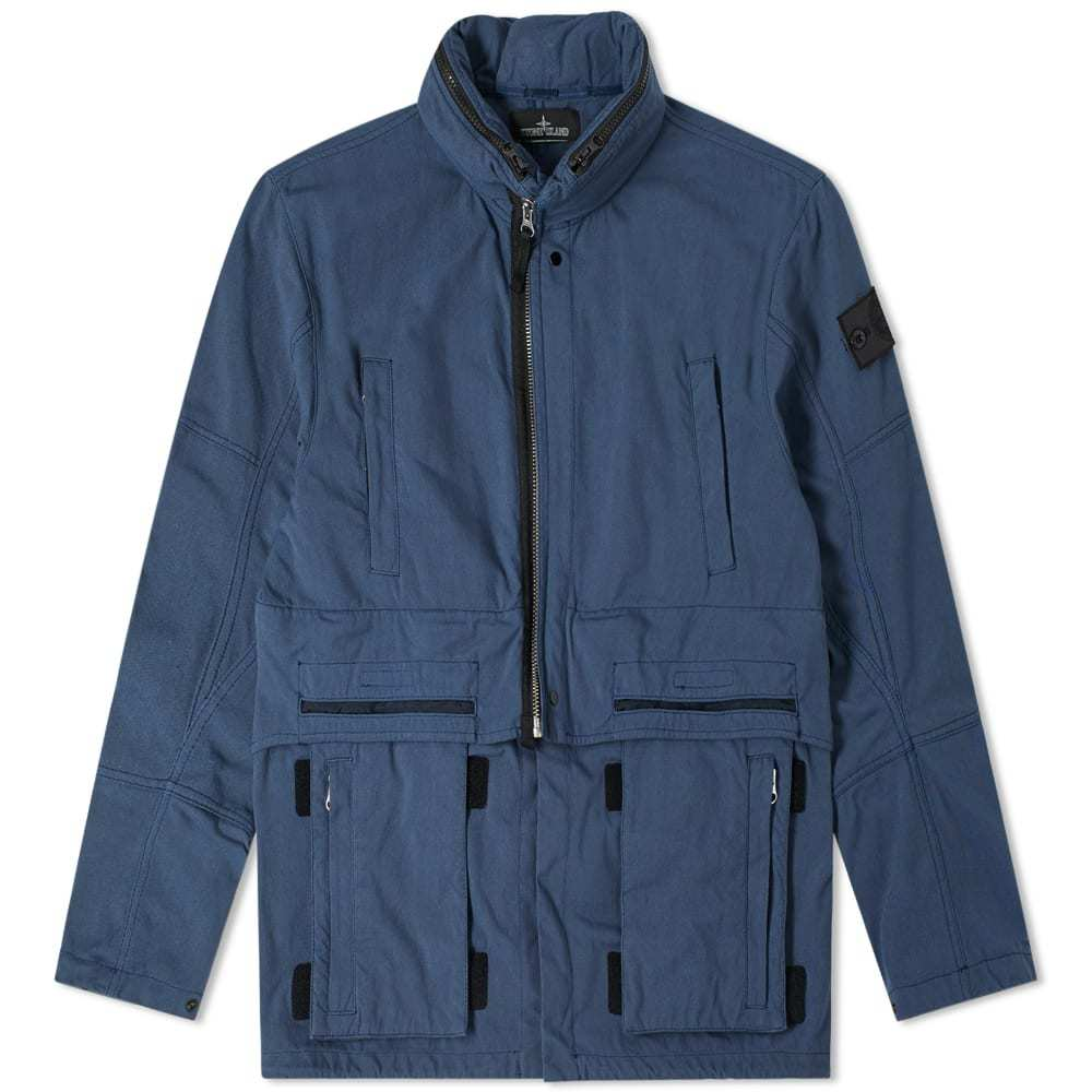 Photo: Stone Island Shadow Project Hollow Core Concealed Hood Jacket