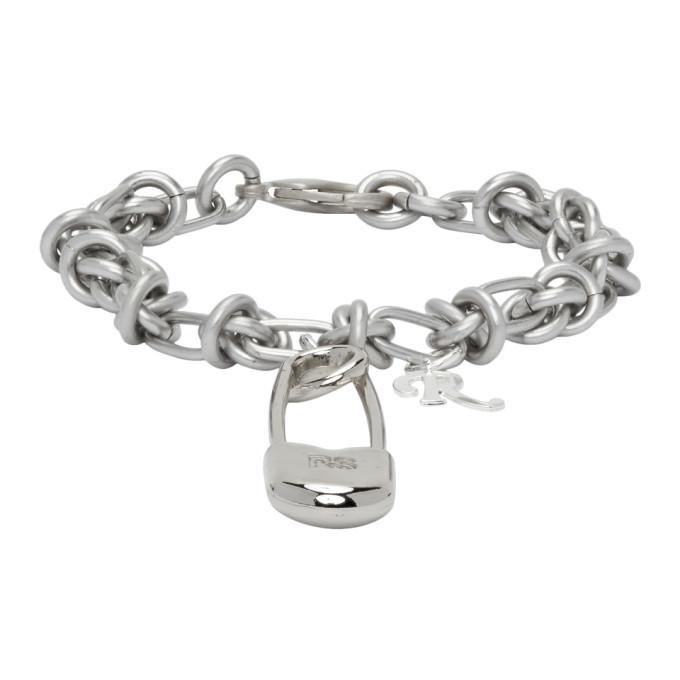 Photo: Raf Simons Silver Knot Safety Pin Bracelet