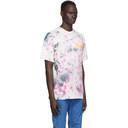 Aries Purple Tie-Dye Temple T-Shirt