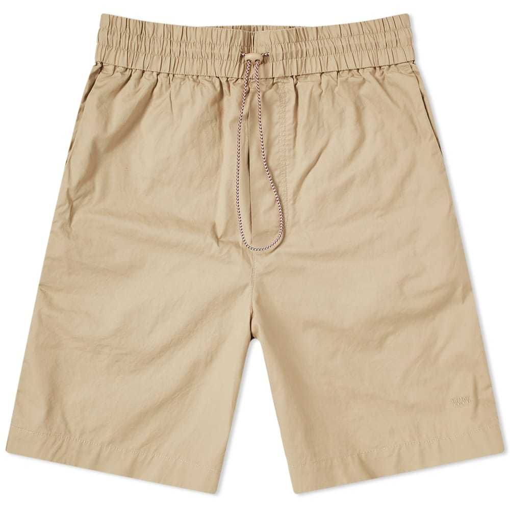 Wood Wood Baltazar Drawstring Short Light Khaki