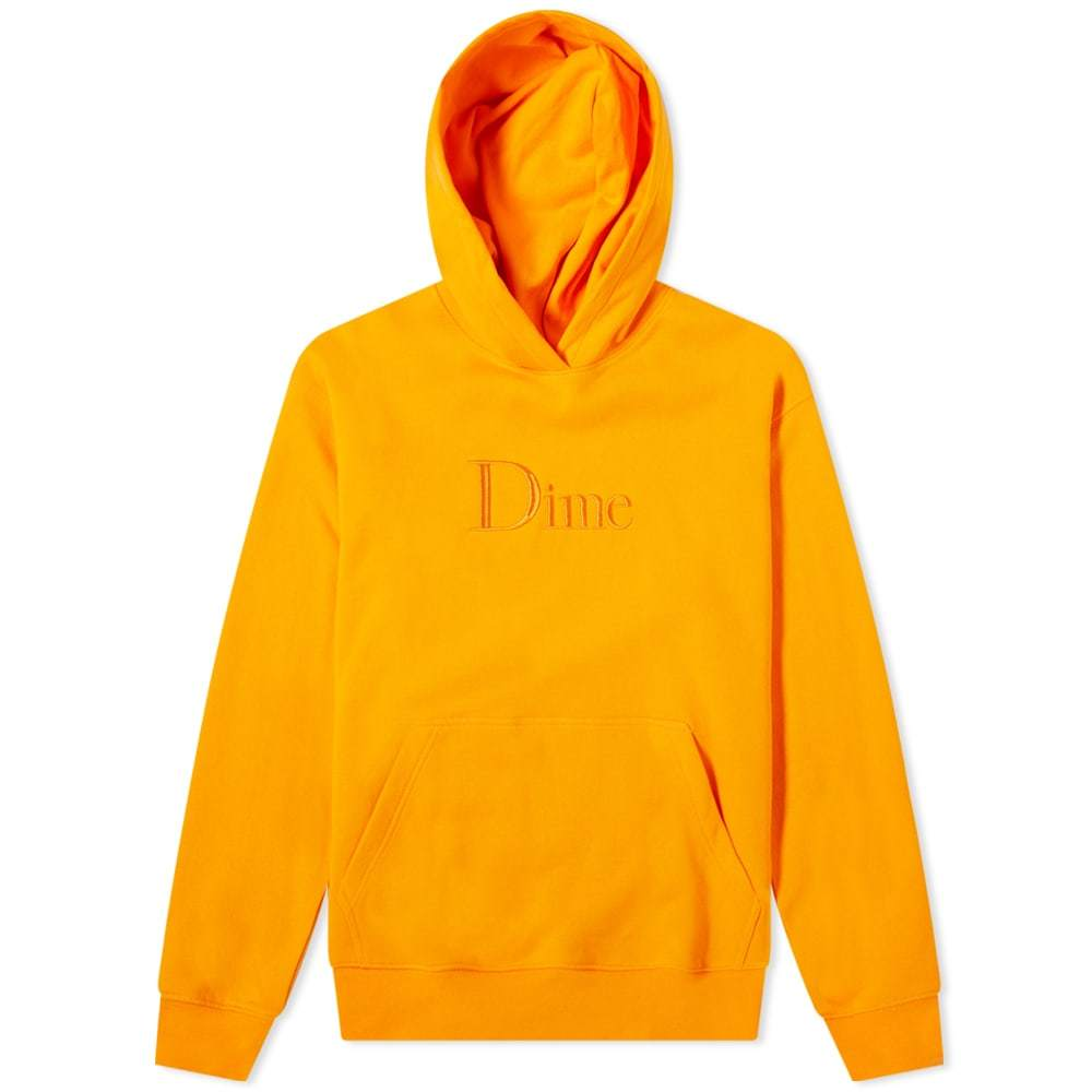 Photo: Dime Classic Logo Embroidered Hoody