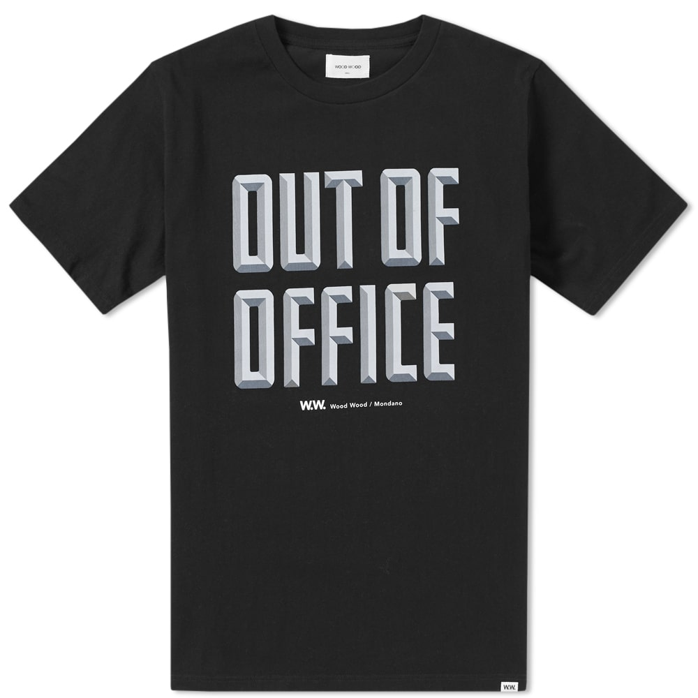 Wood Wood Out Of Office Tee