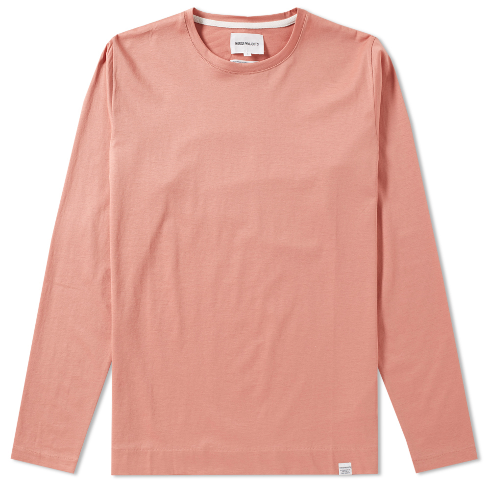 Photo: Norse Projects Long Sleeve Esben Blind Stitch Tee