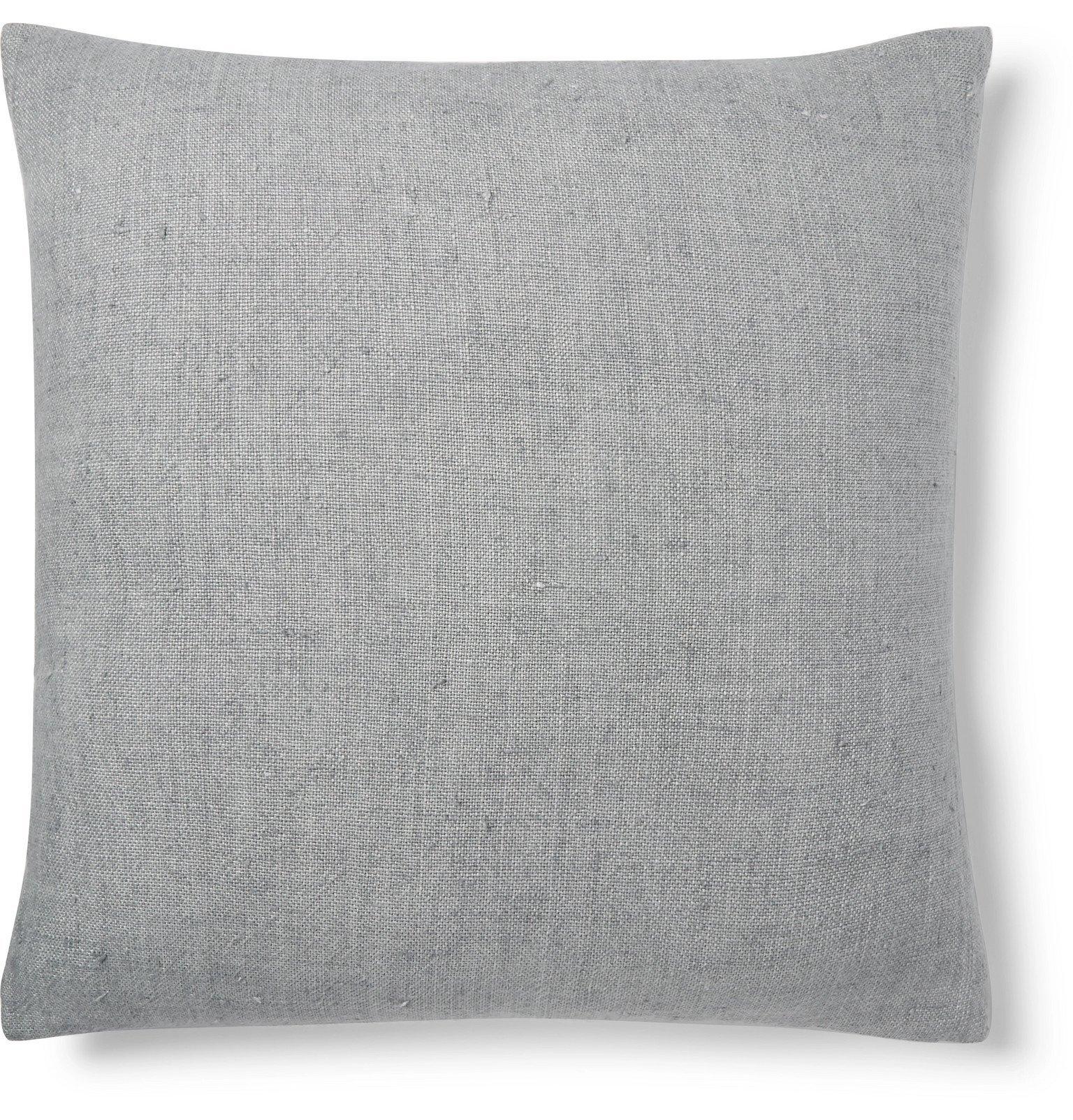 Photo: Roman & Williams Guild - Linen Cushion - Gray