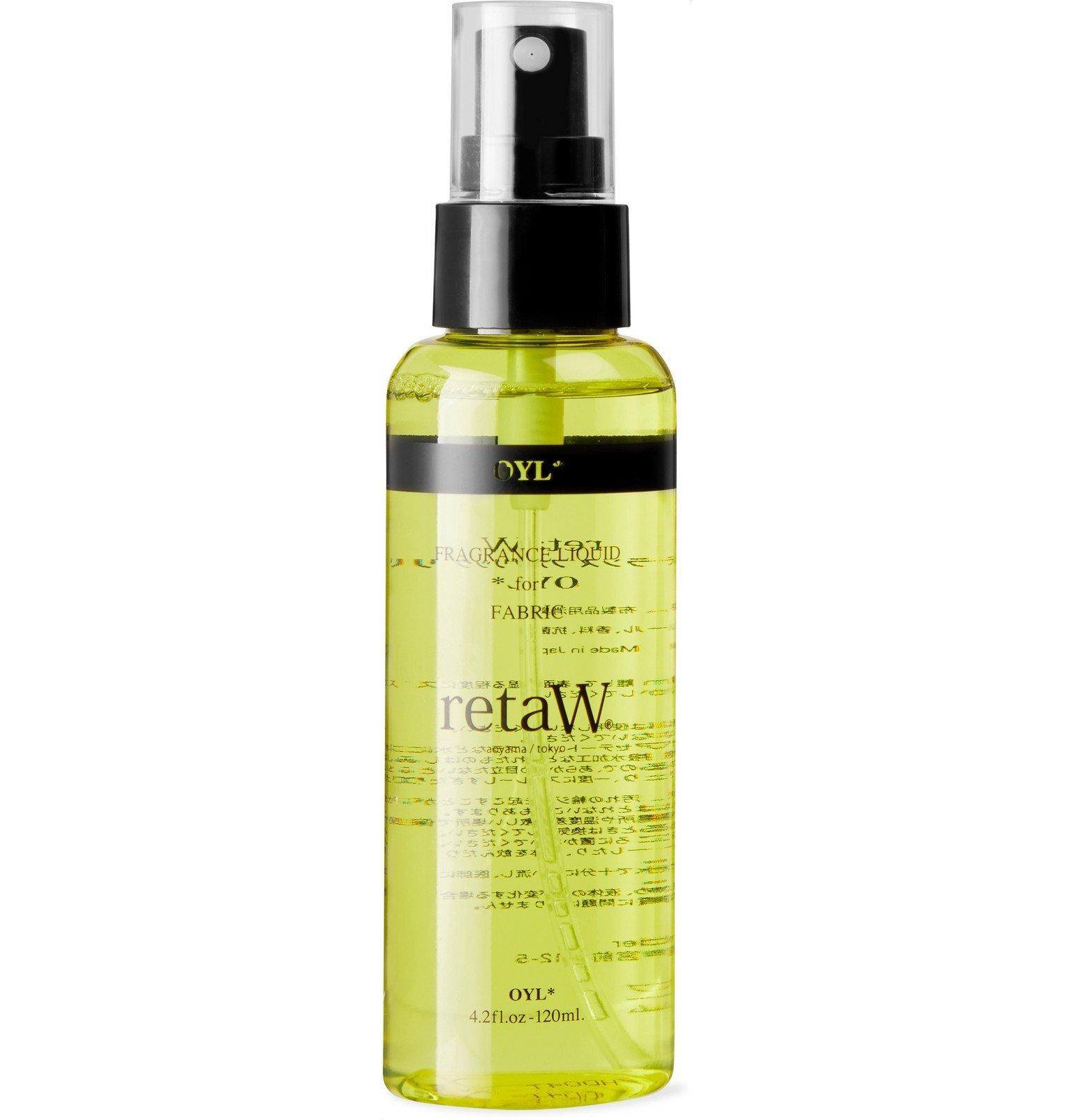 Photo: retaW - Fragrance Liquid for Fabric - Oyl, 120ml - Black