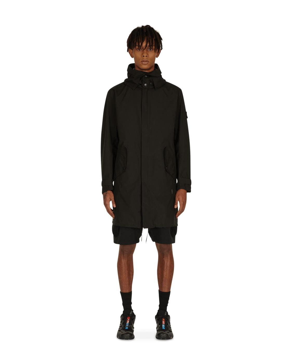Stone Island Shadow Project Semi Lined Coat Black
