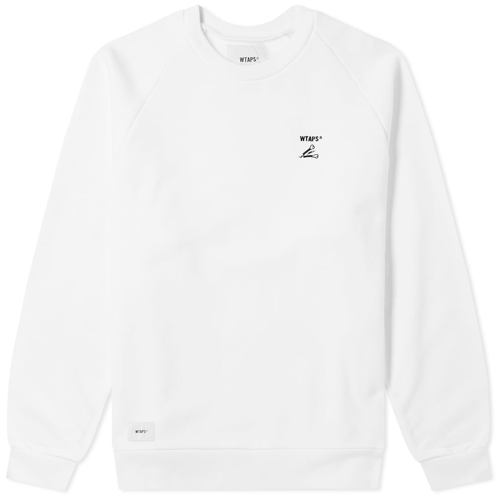 Photo: WTAPS Crack 01 Crew Sweat