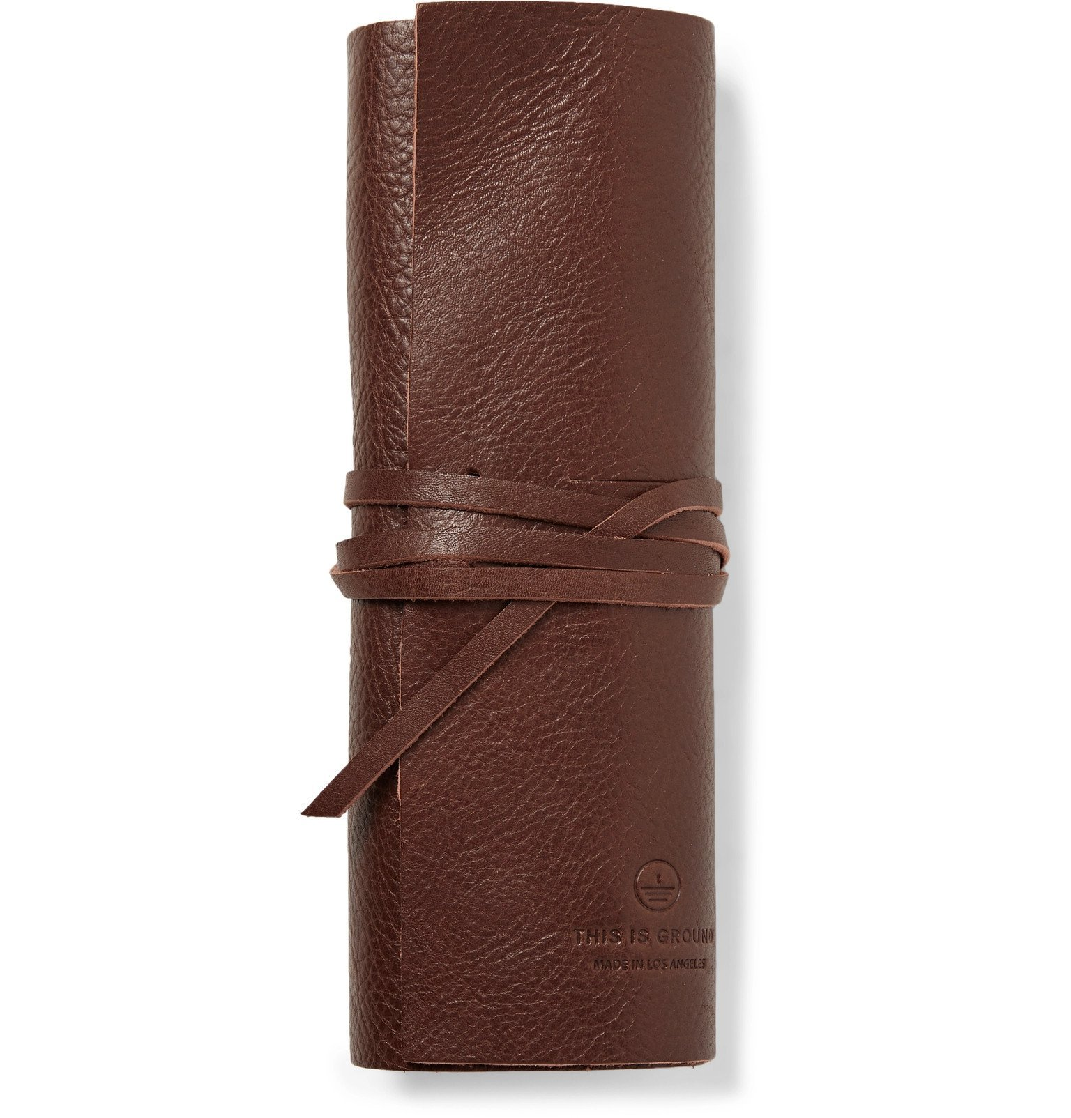 Photo: This Is Ground - Bandito Full-Grain Leather Pouch - Brown