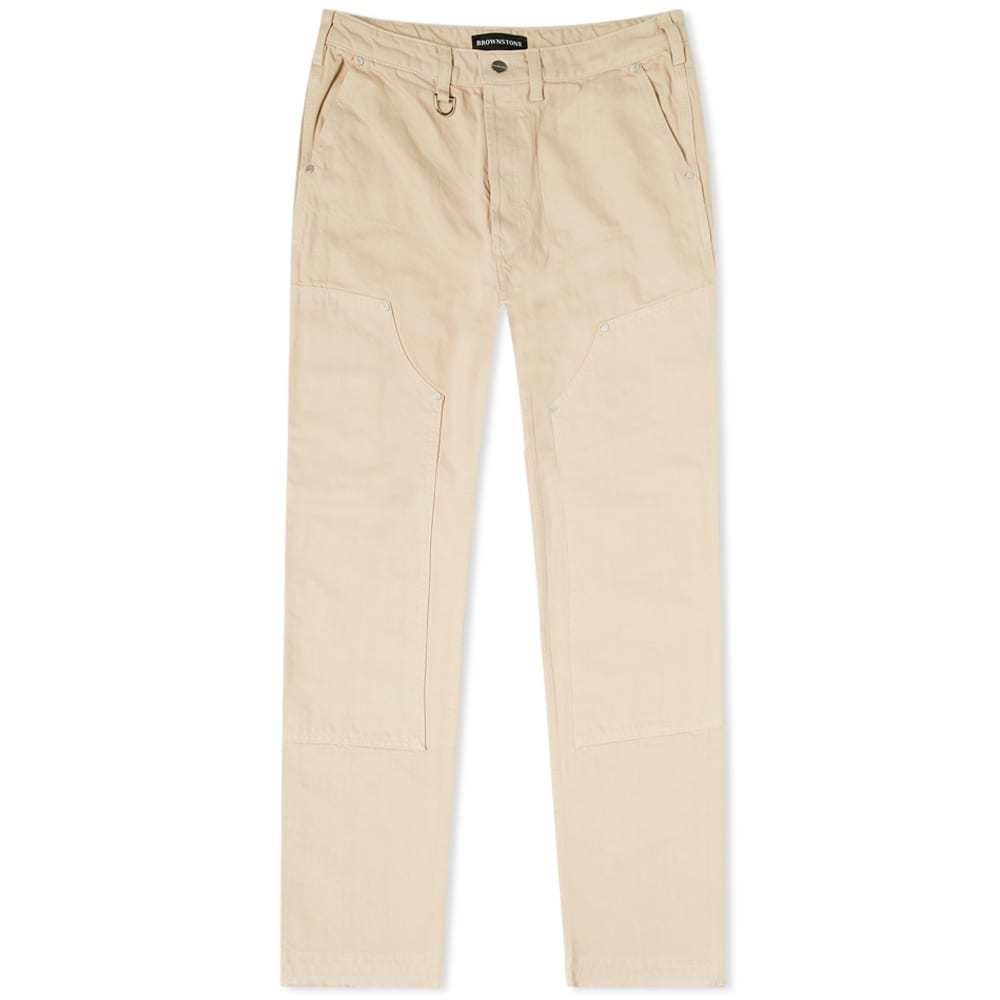 Photo: Brownstone Selvedge Double Knee Jean