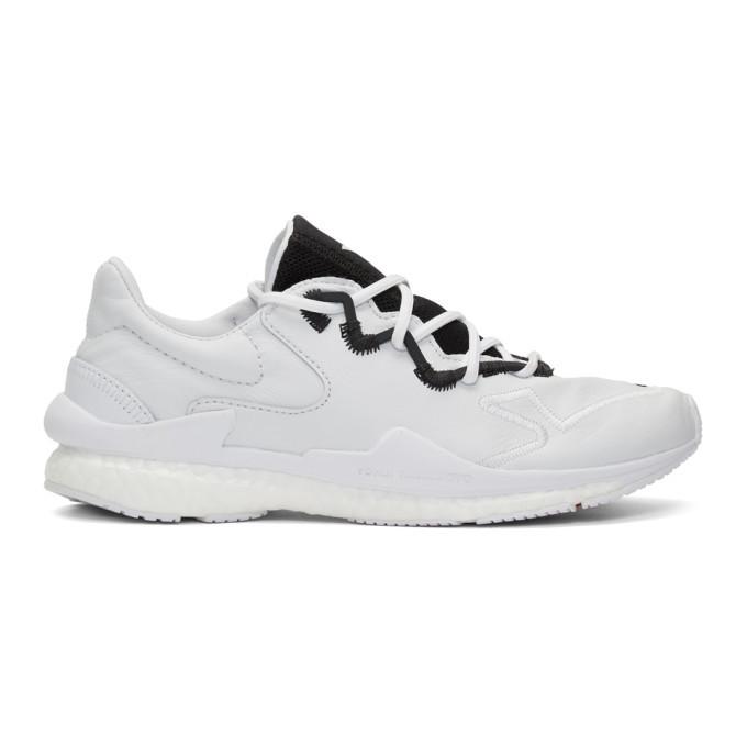 Y-3 White Adizero Runner Sneakers