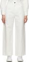 MCQ Off-White Chino Jeans
