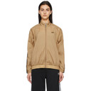 adidas Originals Brown Ripstop R.Y.V. Track Jacket